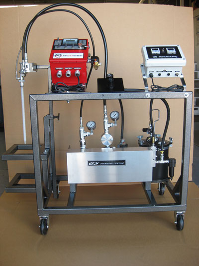 Variable Ratio Epoxy Resin Meter/Mix Dispensing System